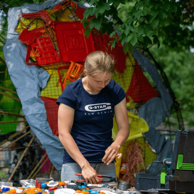 Impactproject Planet Zero van MDT traject MDT BAAS in Vijfheerenlanden. Gefotografeerd door Joofle Reclame, een reclame bureau in Leerdam